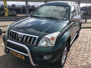 Uitblinker: Toyota Land Cruiser 3.0 4-4D Executive HR Blind Van