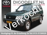Toyota Land Cruiser 90 3.0 D4-D HR Blind Van | Trekhaak | Centrale vergrendeling | Radio/CD-speler
