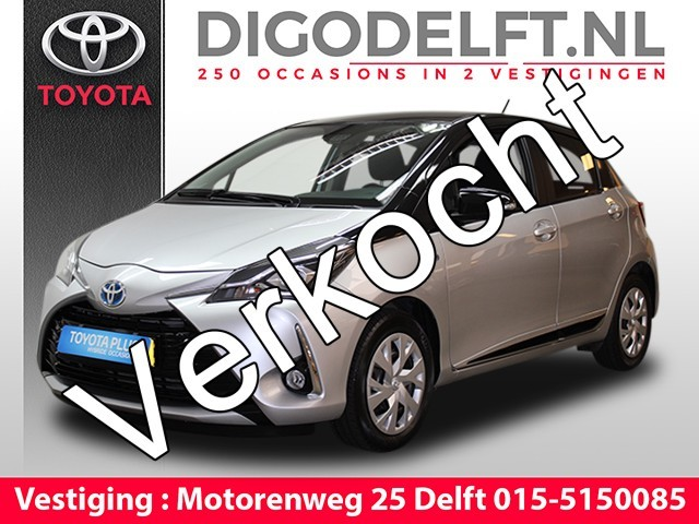 Toyota Yaris 1 5 Hybrid Design Bi Tone Navigatie Safety Sense Camera