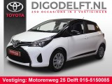 Toyota Yaris 1.0 VVT-I BI-TONE BLACK & WHITE CAMERA.STOELVERWARMING.AIRCO