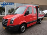 Volkswagen Crafter 30 2.5 TDI L2 D.C. 7-P PICK-UP OPEN LAADBAK + AIRCO *MARGE*
