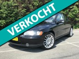 Volvo S60 2.4 Drivers Edition, LEER, CRUISE, CLIMA, STOELVERW.