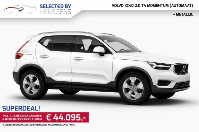 Volvo Xc40 2 0 T4 Momentum Led Connected Services Nwpr Ac