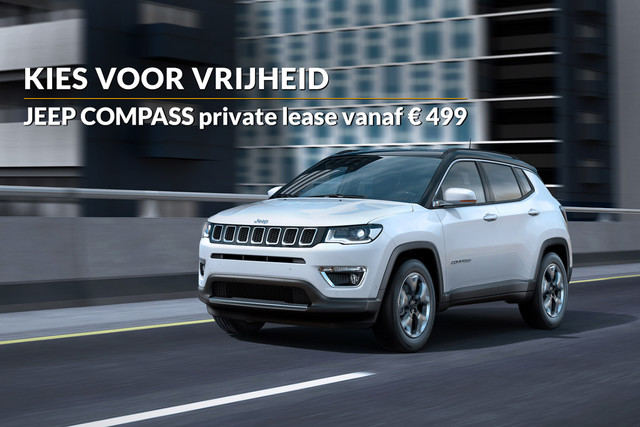 Jeep Compass private lease-aanbieding bij Mobility Group Haaker