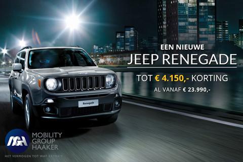 Jeep Renegade nu vanaf € 23.990