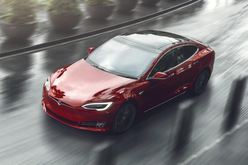 Elektrische auto met grote range